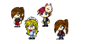 Hair Clothing Maplestory by xXcookies898Xx