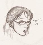 Torchwood : Tosh Sketch by Estel