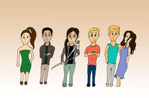 Hunger Games Cast by LastChanceToBreathe