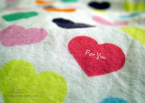 only for u