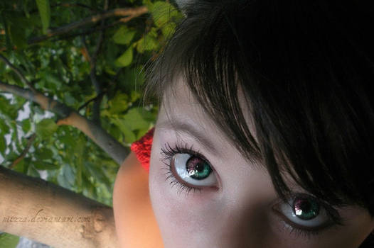 rainbow eyes..