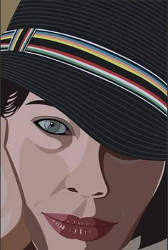 Illustration of Fairuza Balk