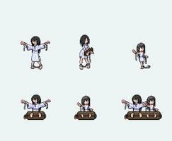 Custom Trainer Sprites - Ghost Girls (updated) by Anomaro-Karisu