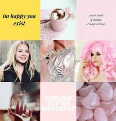 fic moodboard - Crystal Swan by CarolinetheEchidna