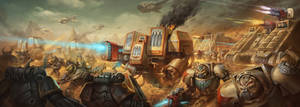 Deathwing Dreadnoughts and Landraiders DPS