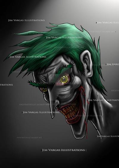 Joker 1 by jvargasartist