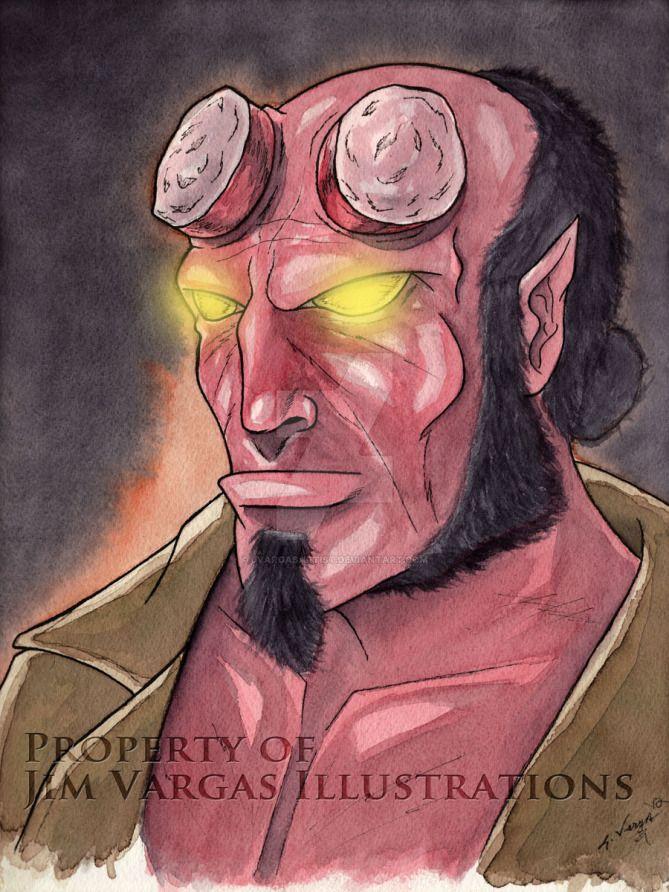Hellboy by jvargasartist