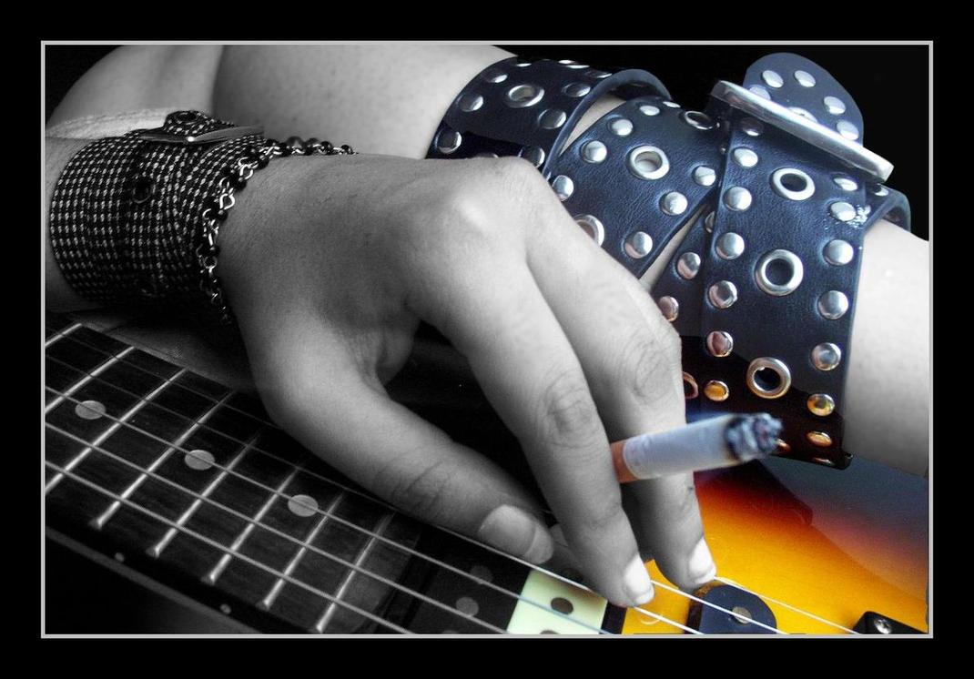 Sex rock n roll of kinky threesome 2