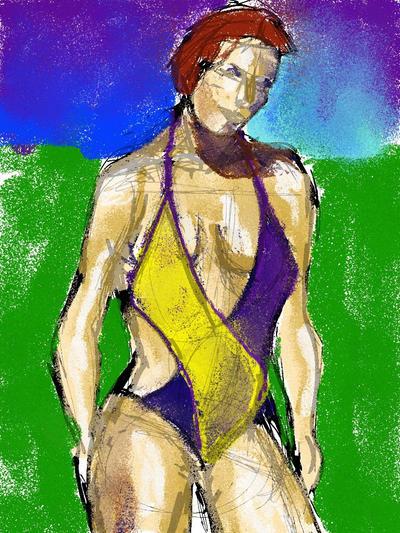 Bathing suit 122014 2 by StevenLipton
