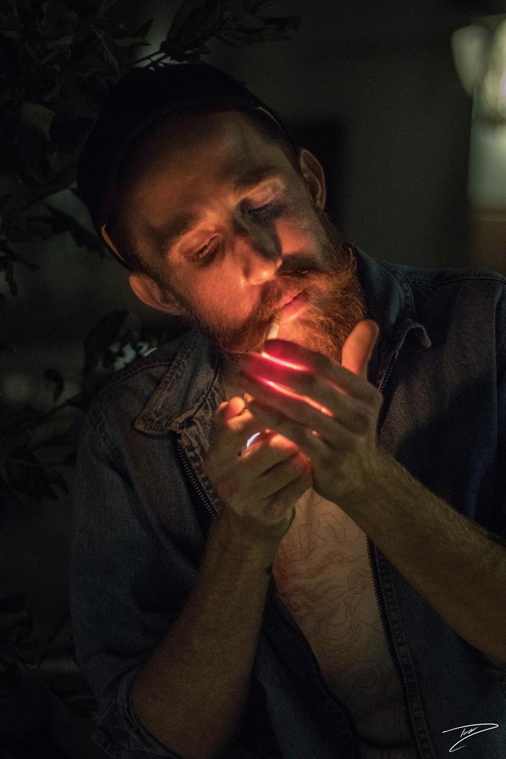 smoking man by dfxVanish
