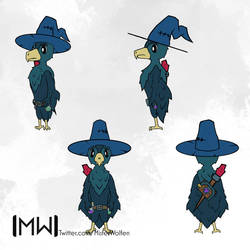 Crow Mage - Character Concept