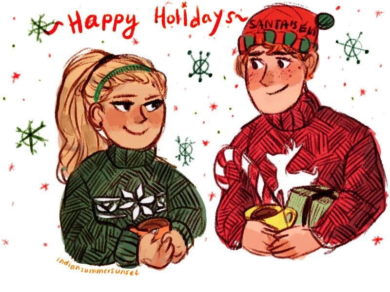Happy Holiday! by CrazedPochamaXD