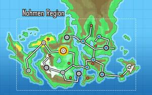 Pokemon ~ Region Map by Fraot