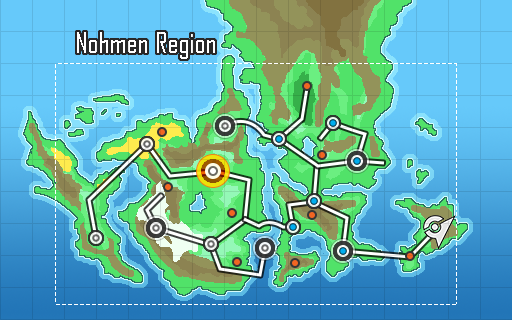how to make a pokemon region map