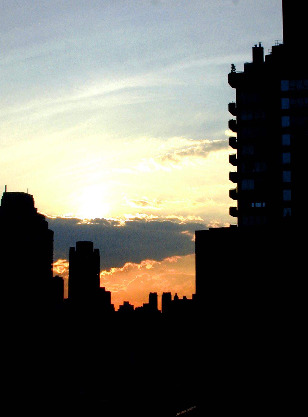 New York Sunset by chibichan314