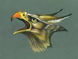 Gryphon by FeatheredDiva