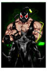 Batman x Bane - Colored