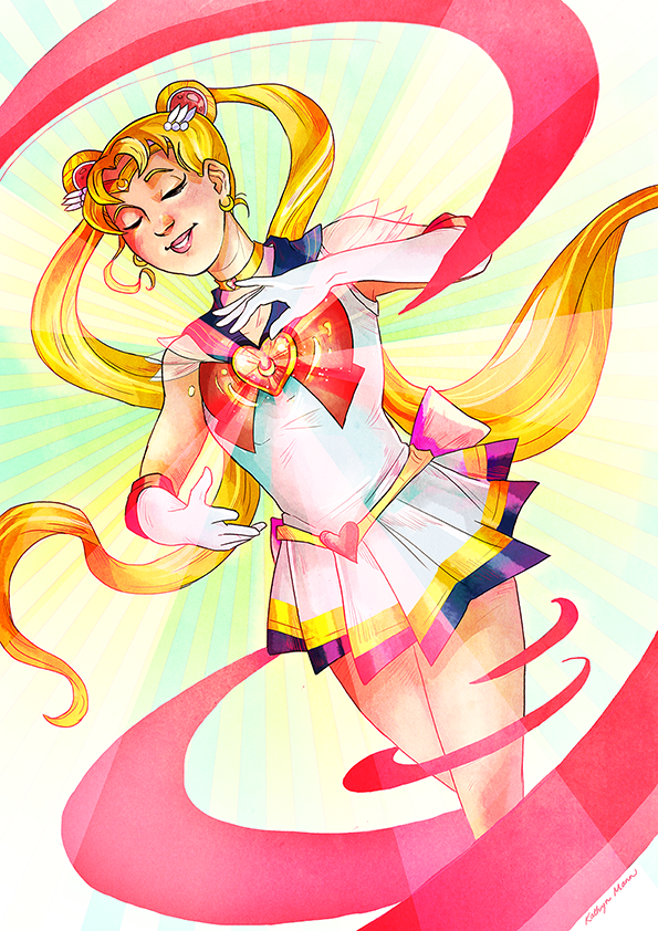 Sailor Moon by Kaywinnit