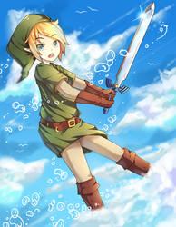 Link - The Legend of Zelda by Neko-Slay