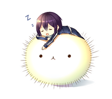 Don't sleep Yato! by Neko-Slay