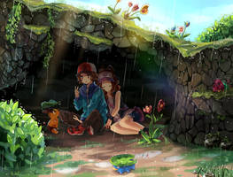 After the rain there is a rainbow by Neko-Slay