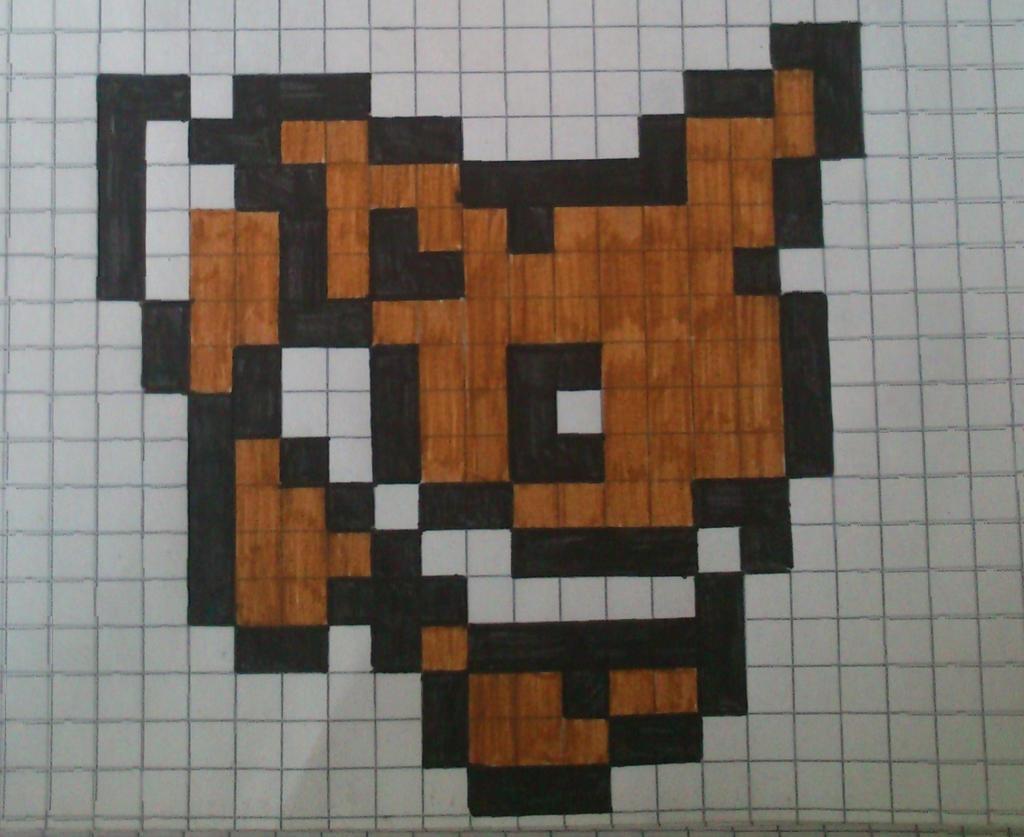 Pixel Art Minecraft Easy Grid 18021 Loadtve