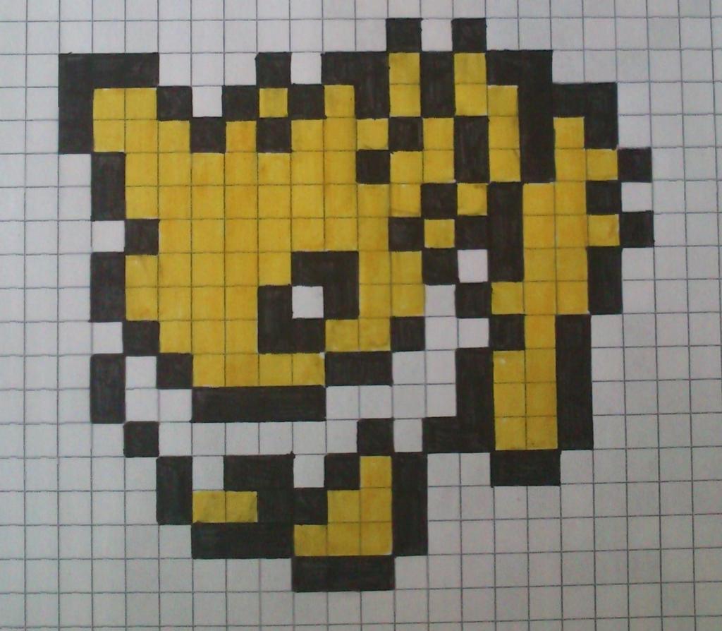 images?q=tbn:ANd9GcQh_l3eQ5xwiPy07kGEXjmjgmBKBRB7H2mRxCGhv1tFWg5c_mWT Pixel Art Pokemon Grid @koolgadgetz.com.info