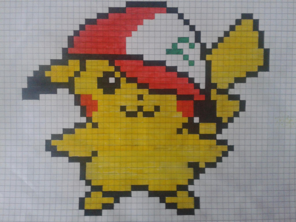 Art Dessin Pixel Art Pokemon Pikachu