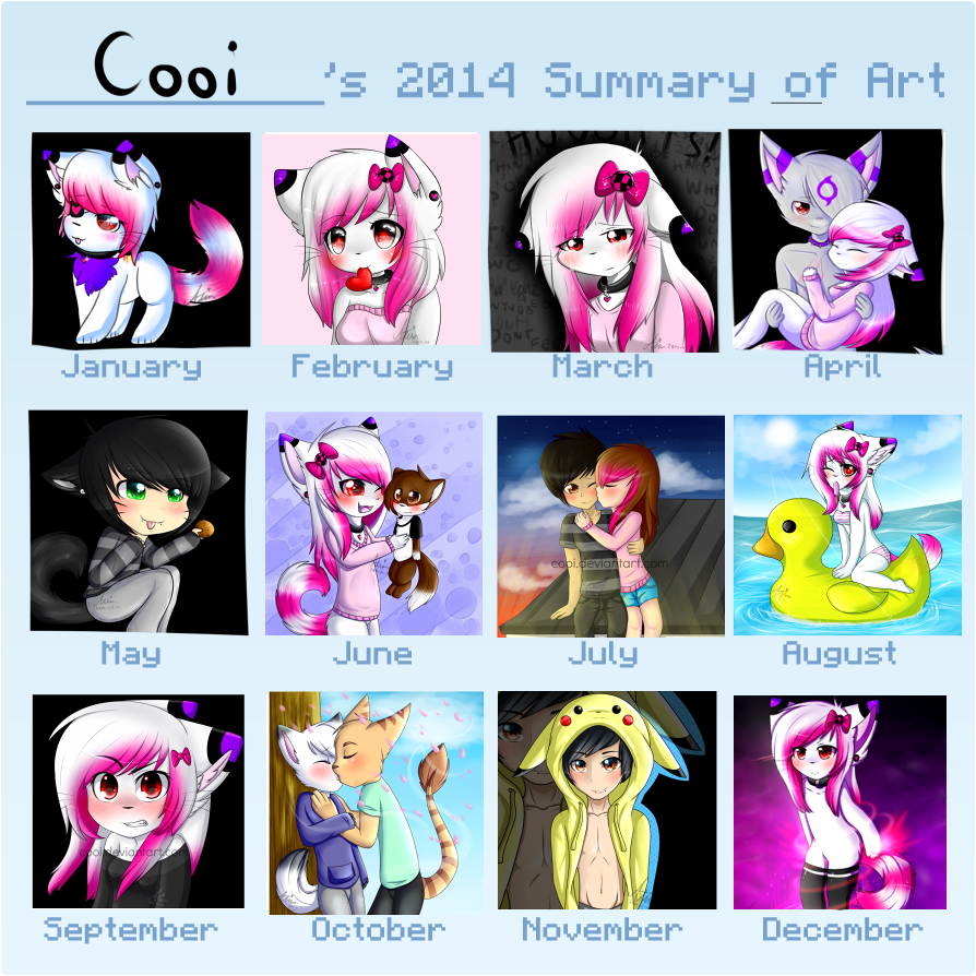 2014 Art Summary by CooI