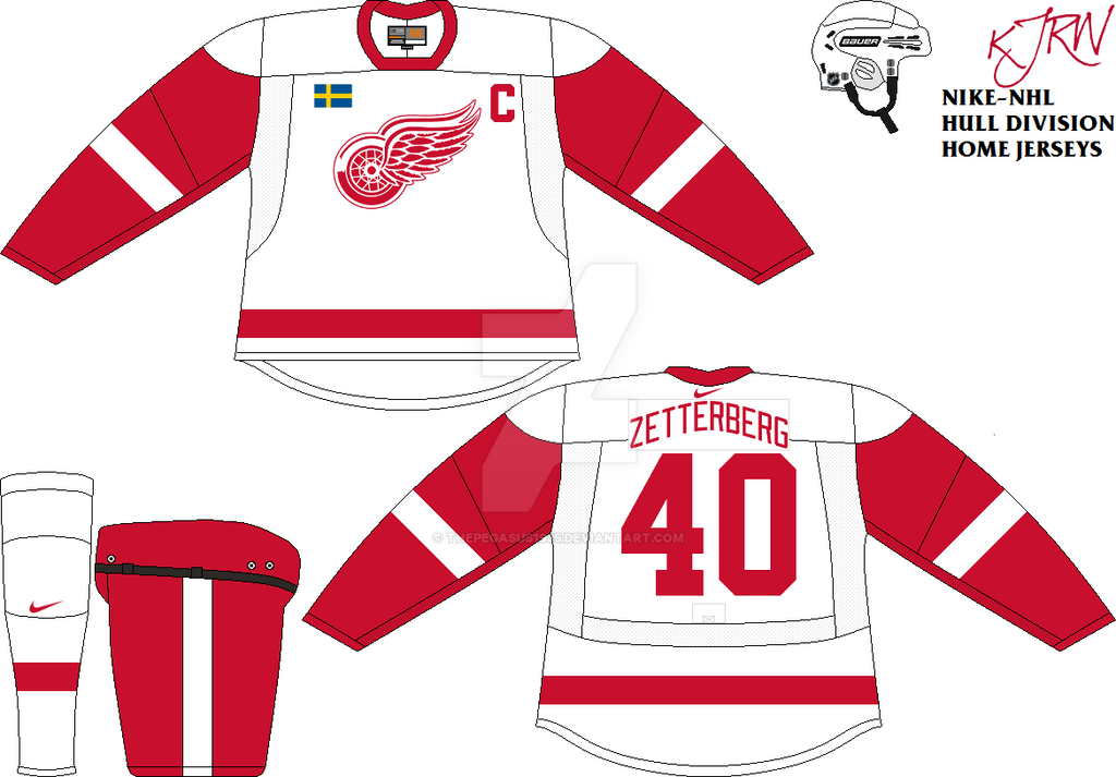 Detroit Red Wings Home V1 by thepegasus1935