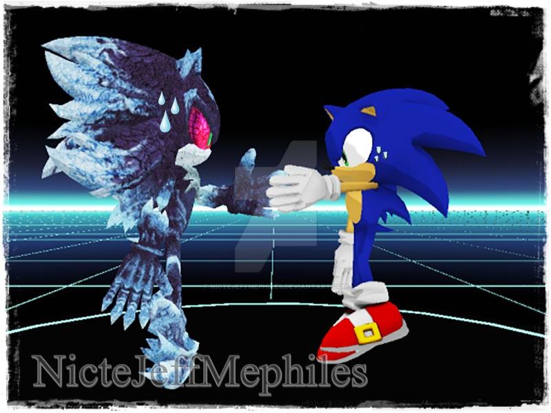 ImageSpace - Mephiles Vs Sonic | gmispace com
