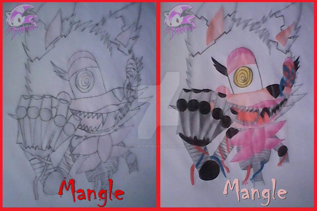 Five Nights At Freddys 2 Mangle By Nictejeffmephiles On Deviantart