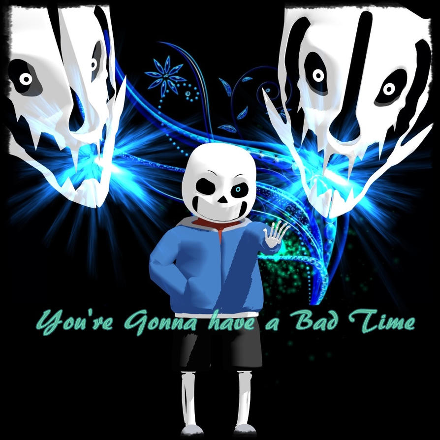 MMD *Sans Bad Time* by NicteJeffMephiles