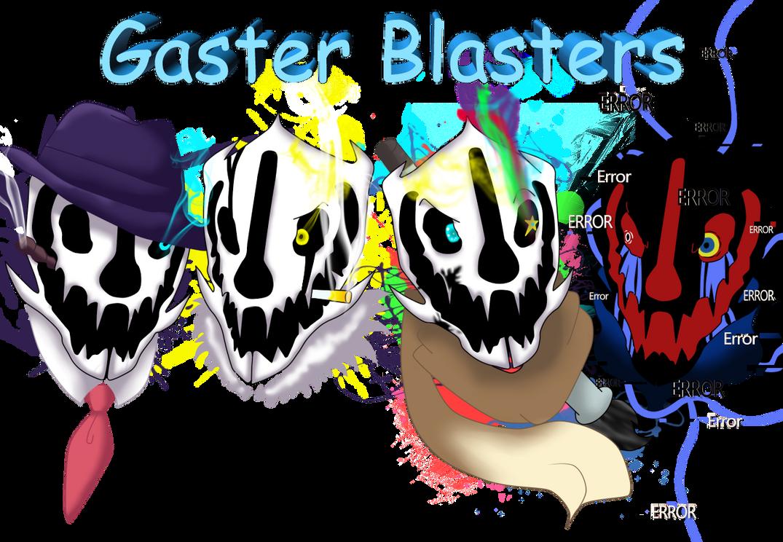Undertale (AU) -Gaster Blasters- by NicteJeffMephiles