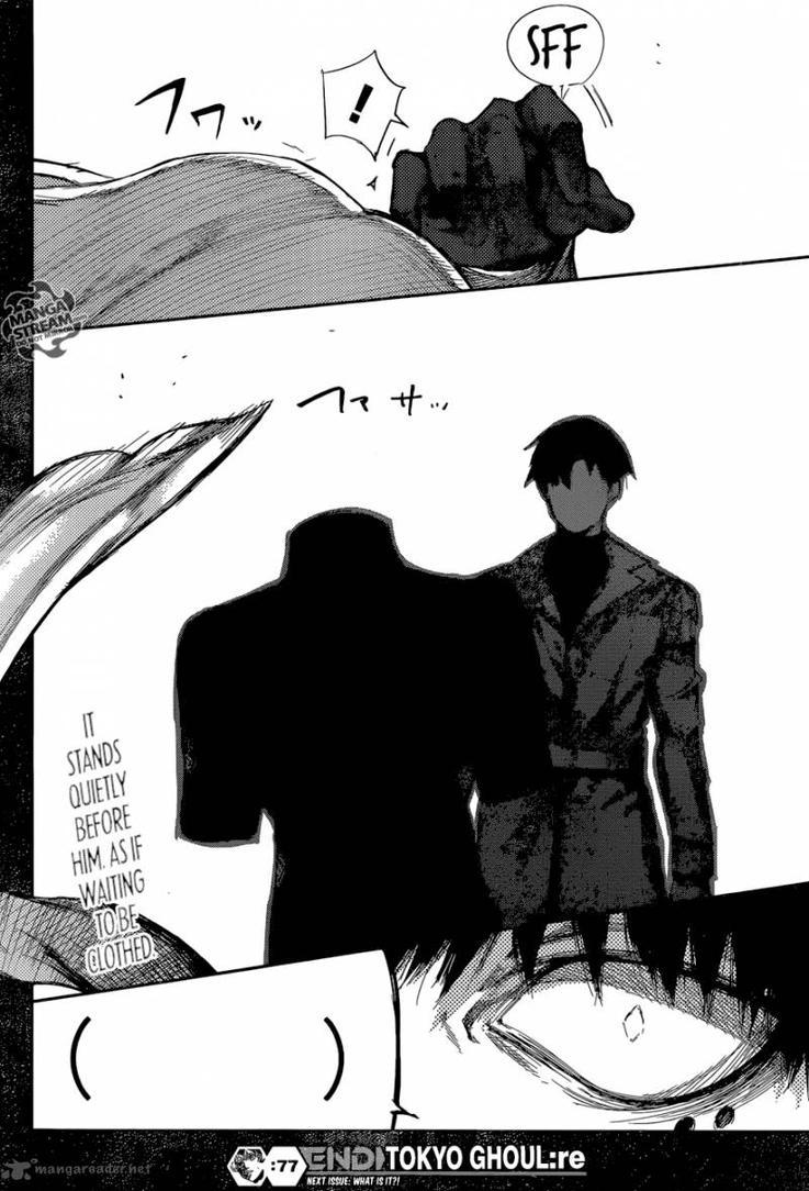 Tokyo Ghoul re manga *Spoiler 77* by NicteJeffMephiles