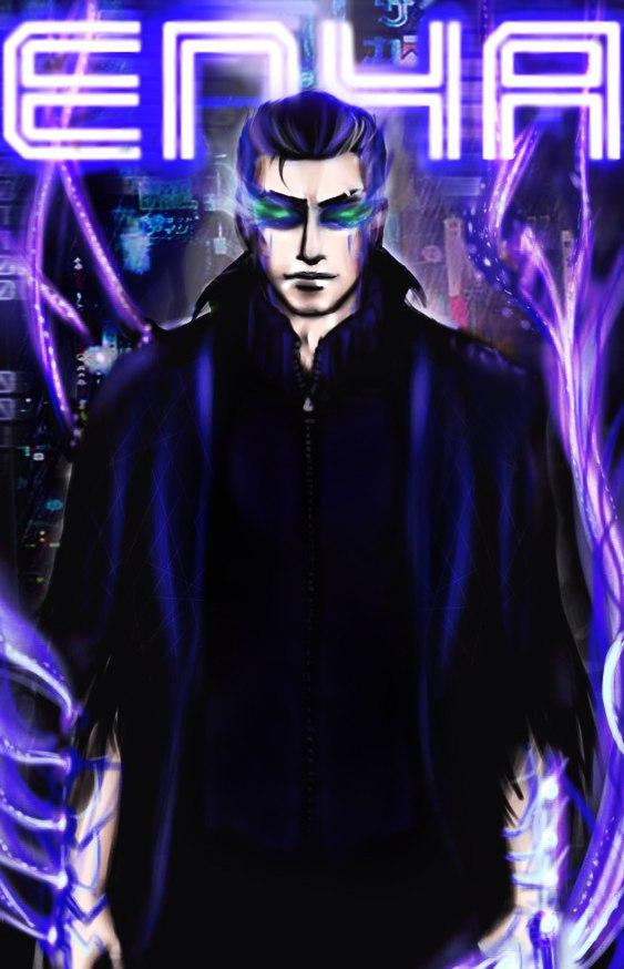 Me in Deus Ex style by Enya-kun