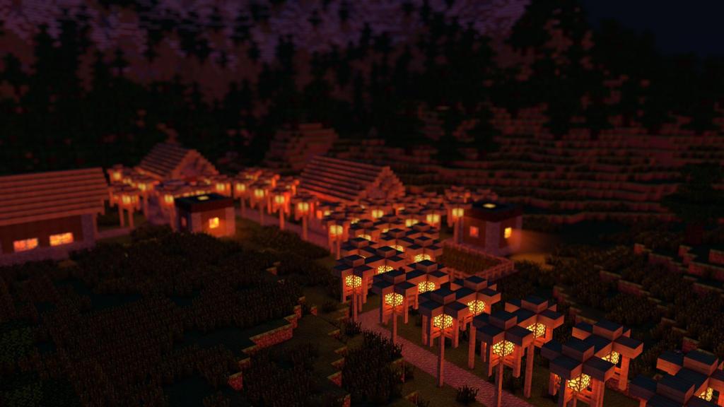 Minecraft Scene Lighting #2 by KingFromHatena