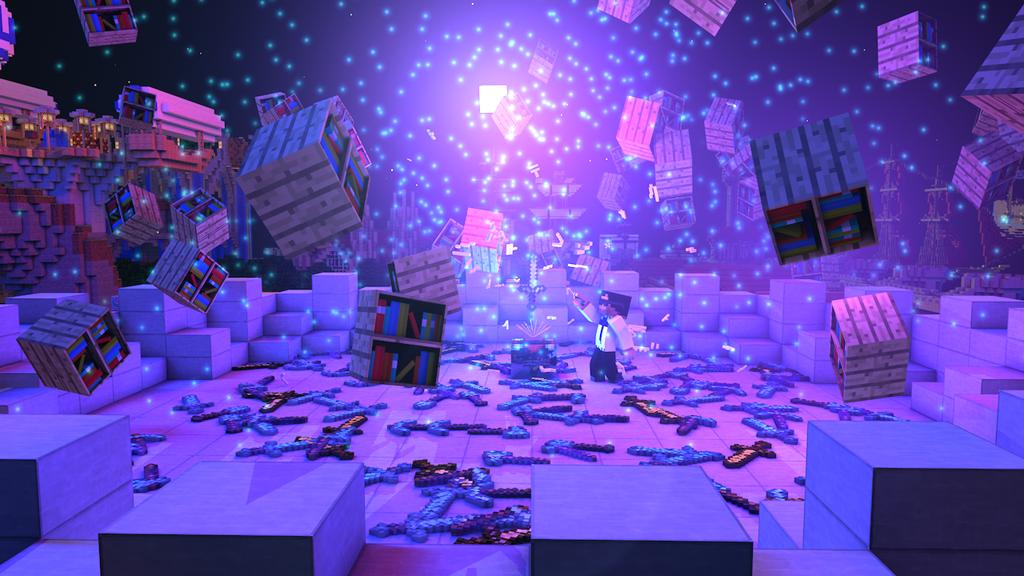 Minecraft Scene Lighting #3 - Enchanting by KingFromHatena