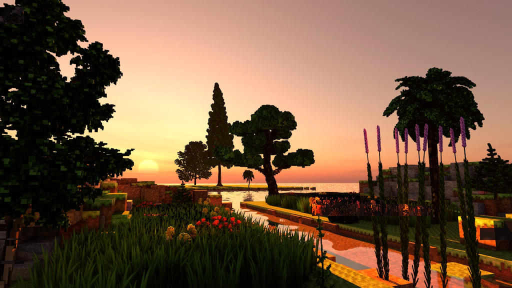 Minecraft Plants and Trees Pack - Showcase Render by KingFromHatena