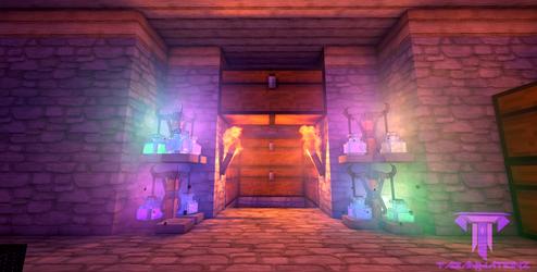 Sparklez's Vault (Second Version) by KingFromHatena