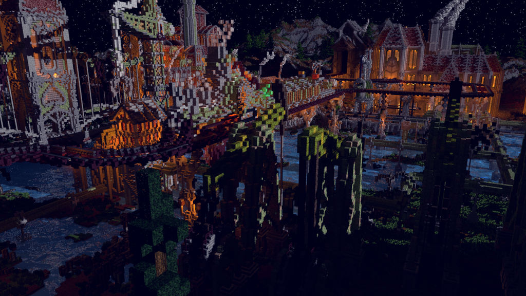'Dark Factory' - Map Render for EsyliumFire 2 by KingFromHatena