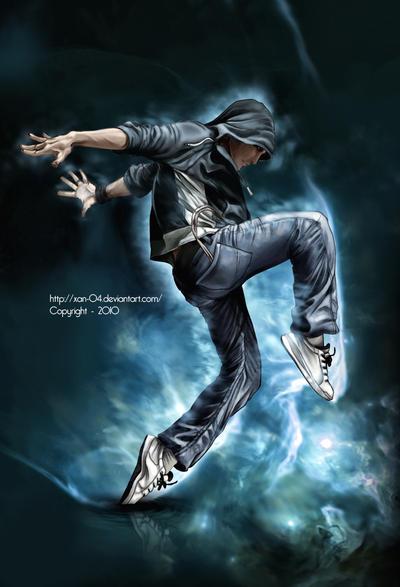 Free style Dance by Xan-04
