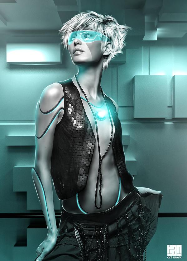Beautiful Robot by Xan-04