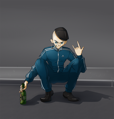 Slav Squat by CGrey