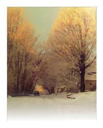 Frosty Lane by Caramelie
