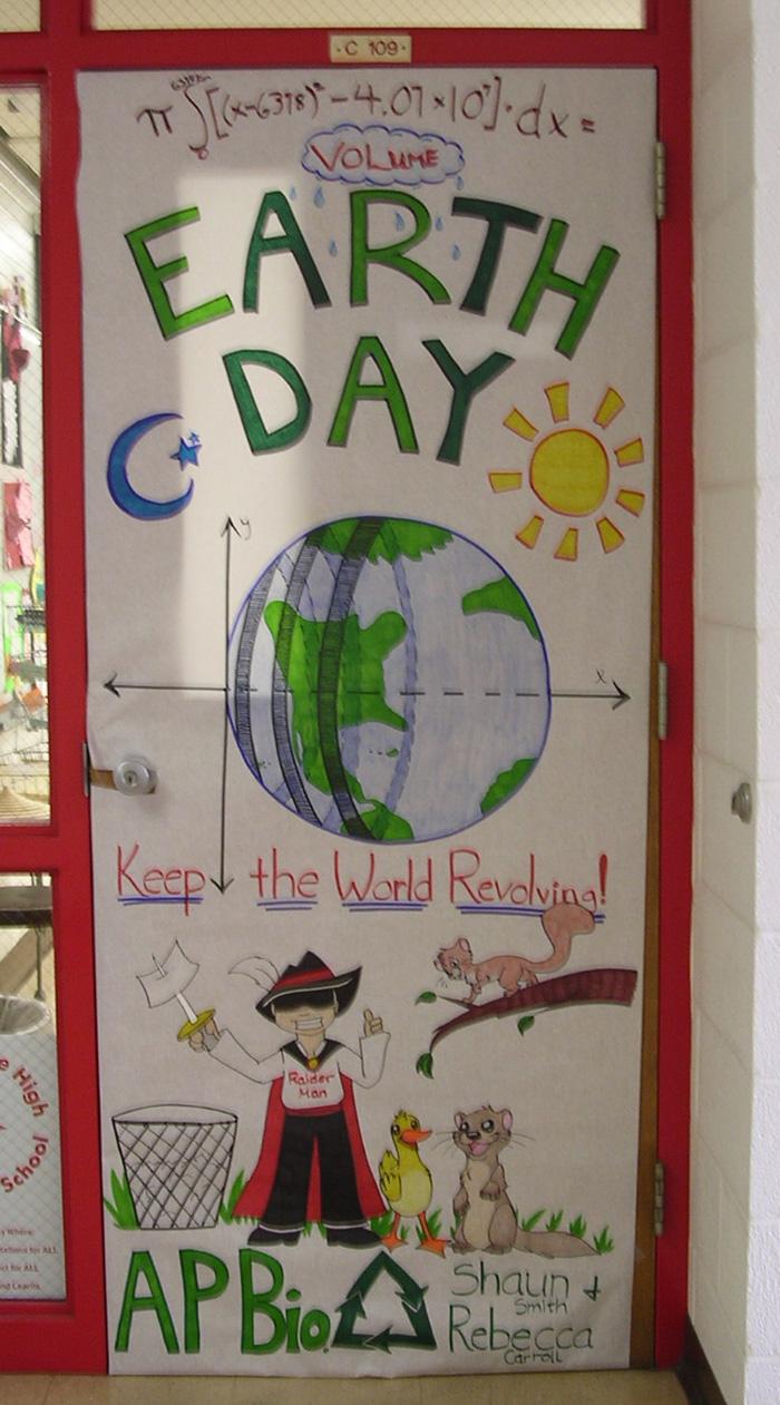 Earth Day Door Decor By Nikori On Deviantart