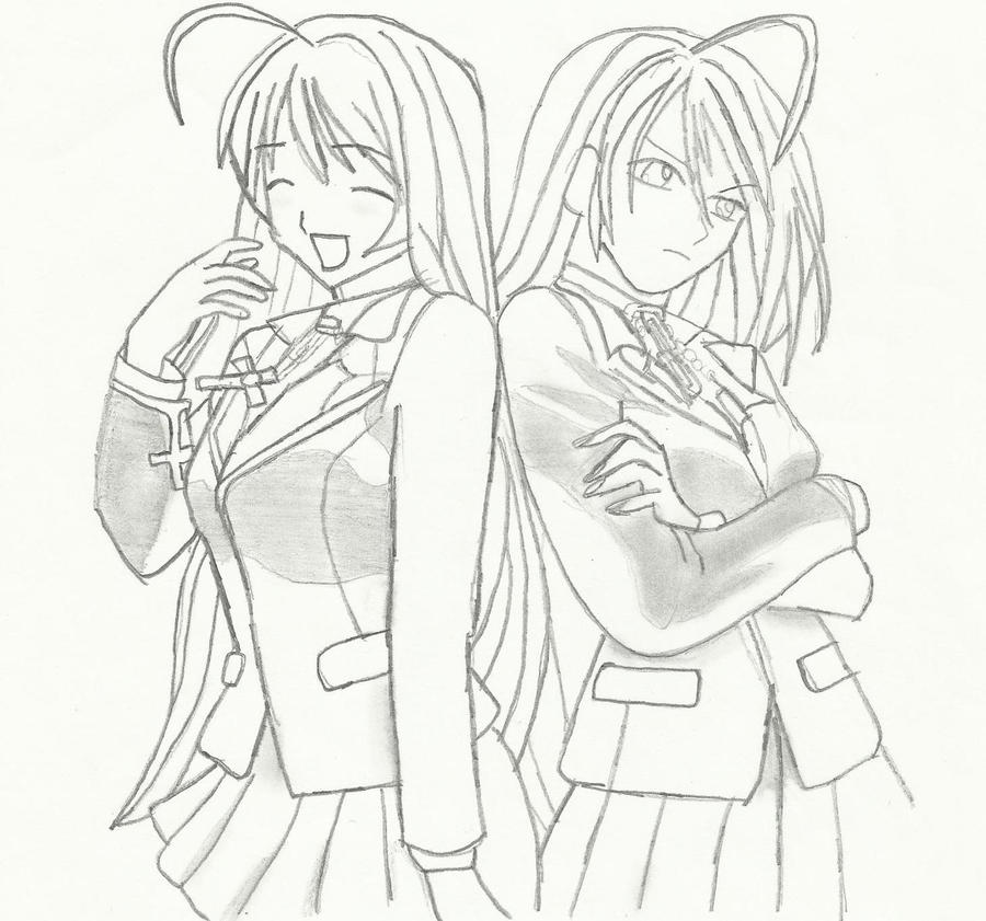 shiki vampire knight oc sketch coloring page