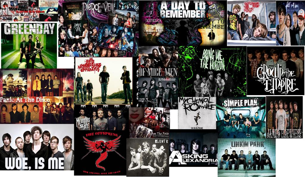 screamo bands wallpaper - photo #36