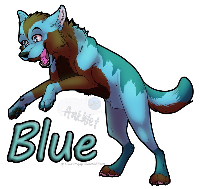 Blue Pounce -PC- by Ankhlet