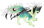 -:COM:- Flat-Colored Kitsu Custom by Vilshanka